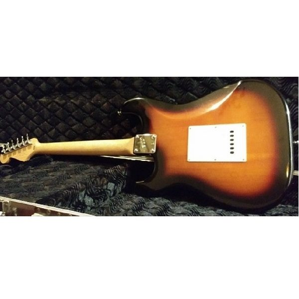 Fender Squier Stratocaster Guitar back view