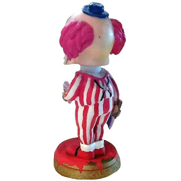 Giggles Evil Killer Clown Bobblehead back view