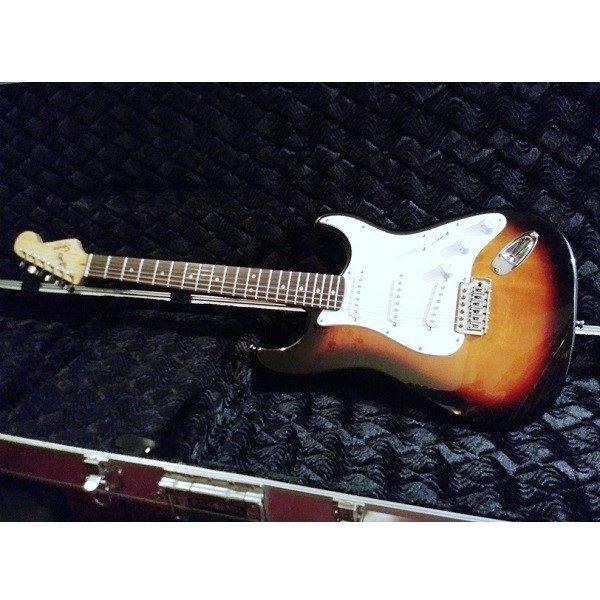 Hardshell Guitar Case interior