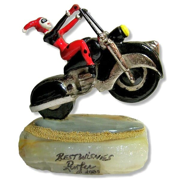 Harley Quinn Wheelie Figurine