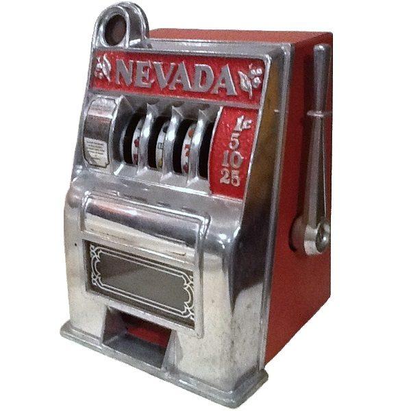 Nevada Slot Machine Bank side view