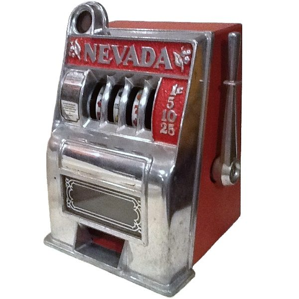 Nevada Slot Machine Bank side view