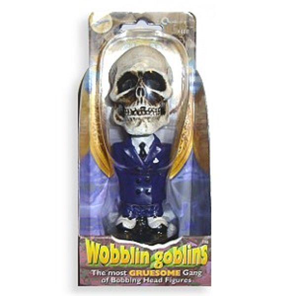 Skull Wobblin Goblin Bobblehead packaging