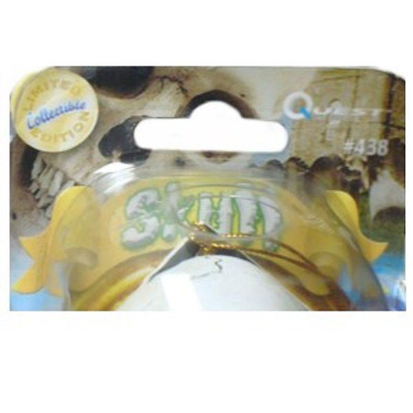 Skull Wobblin Goblin Bobblehead packaging closeup