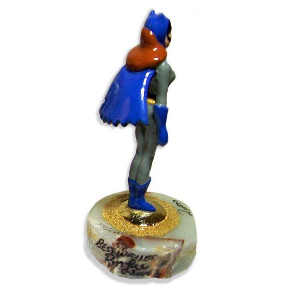 Batgirl Figurine side view