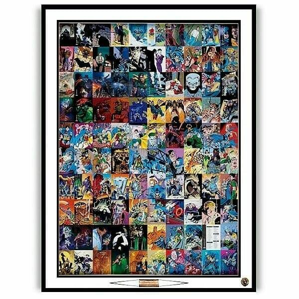 Batman Trading Cards Sheet