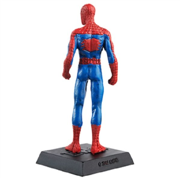 Eaglemoss Spiderman Figurine back view