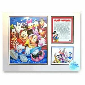 Mickey Mouse Lithograph