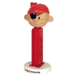 Pez Pirate Bobblehead
