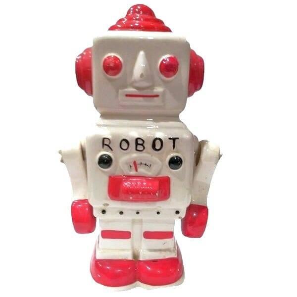 70s Robot Coin Bank