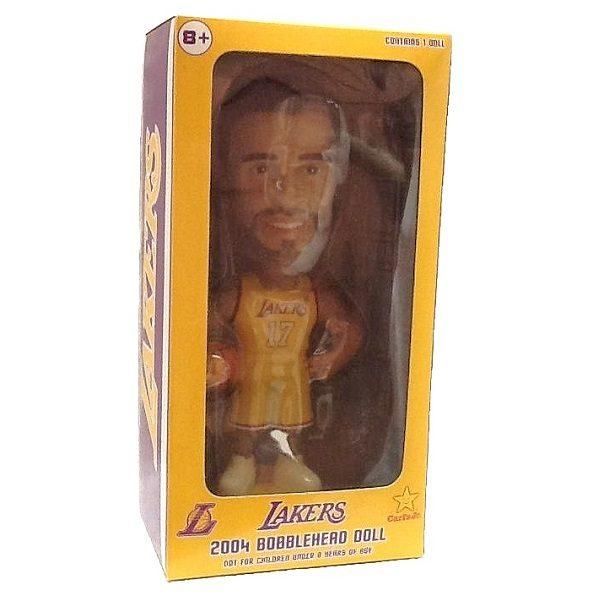 Rick Fox Lakers Bobblehead in box