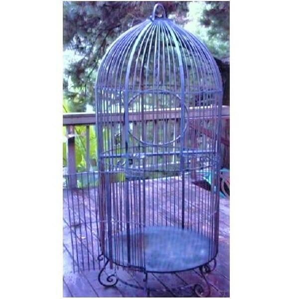 Wrought Iron Birdcage XL