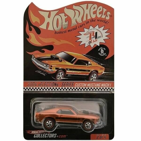 Hot Wheels Redline Mach 1