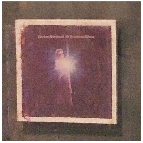 Streisand Gold Record Award album cover close up