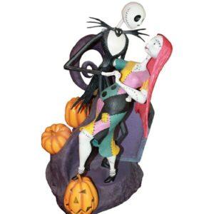 Jack Sally Halloween Statue