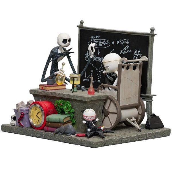Nightmare Before Christmas Desk Clock side view