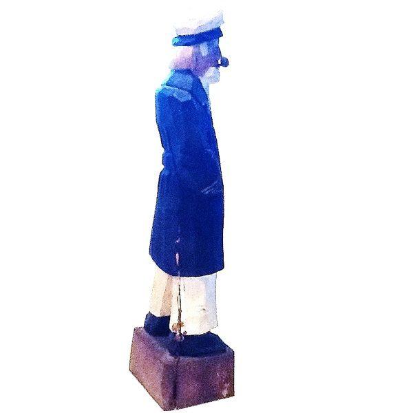 Sailor Captain Figurine side view 2