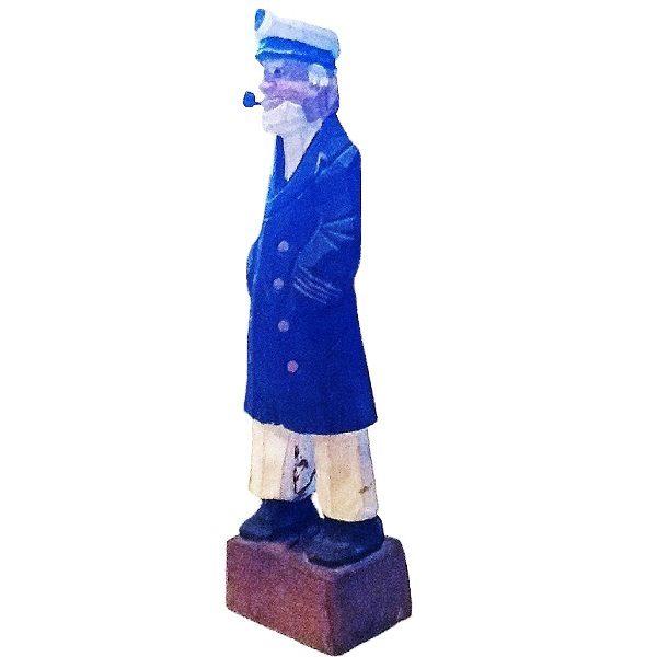Sailor Captain Figurine side view 3