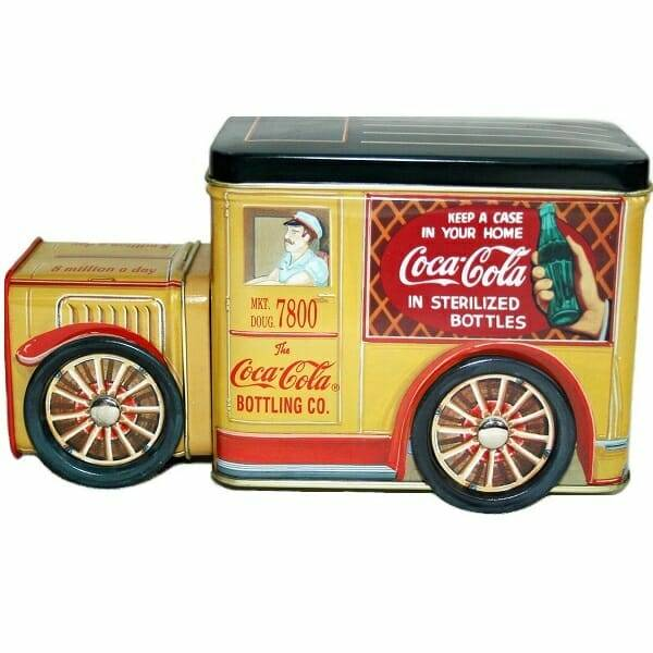 Coca-Cola Delivery Truck Tins single view