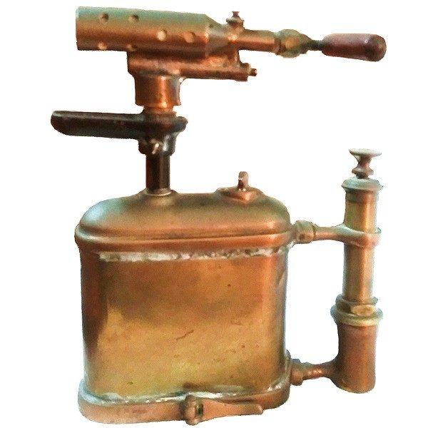 Flat Brass Blow Torch
