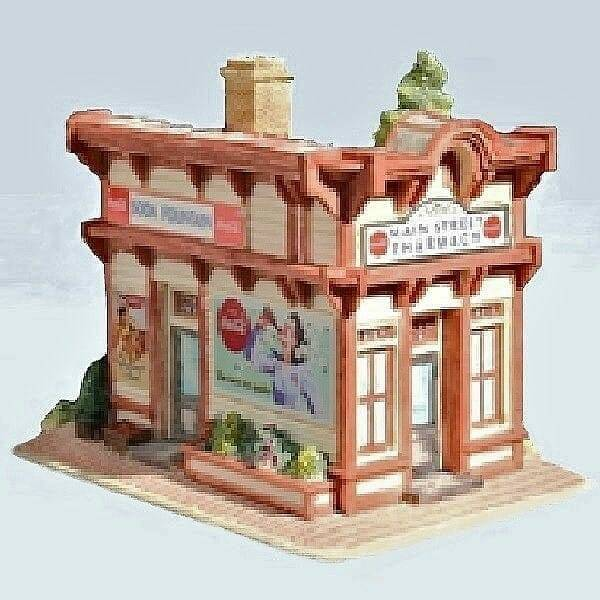 Lilliput Lane Coca-Cola Pharmacy side front view