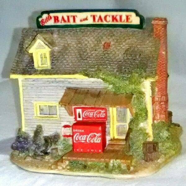 Lilliput Lane Coke Bait Shop side 2 view