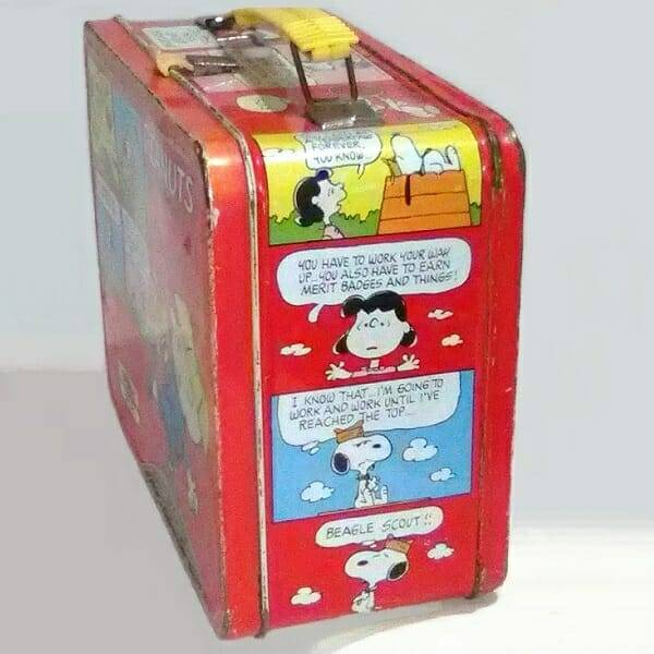 Peanuts Lunch Box side 1 view
