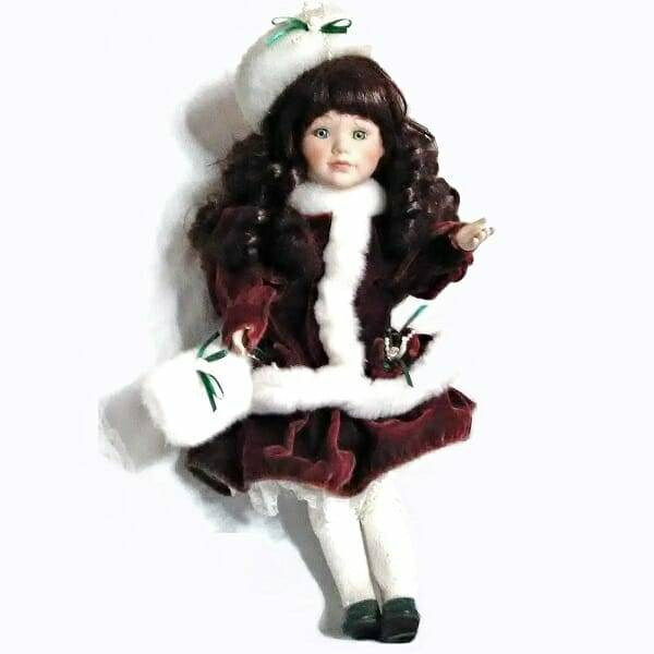 Pretty Holiday Doll