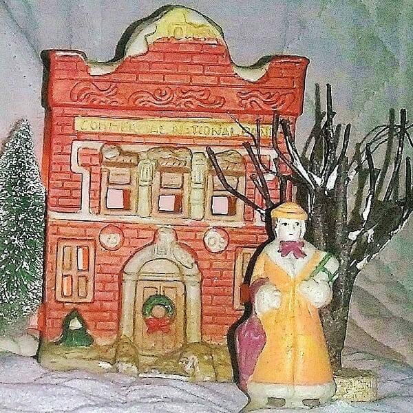 60s Ceramic Holiday Villiage pic 7