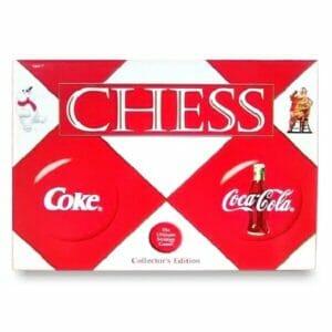 Coca-Cola Collector Chess Set