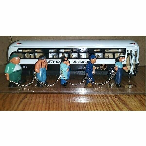 Cool Diecast Sheriff Bus