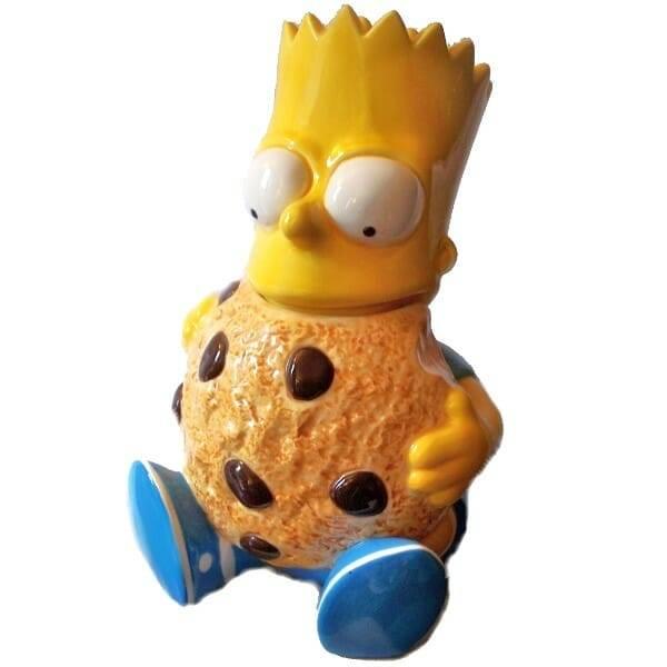 Bart Simpson Cookie Jar