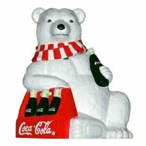 Coke Polar Bear Cookie Jar