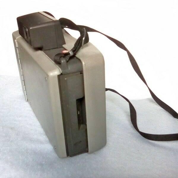 60s Polaroid Camera side iew