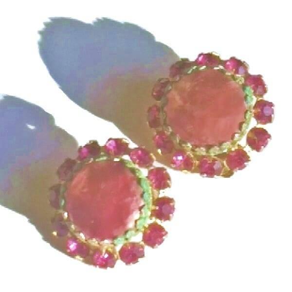 Pink Weiss Earrings