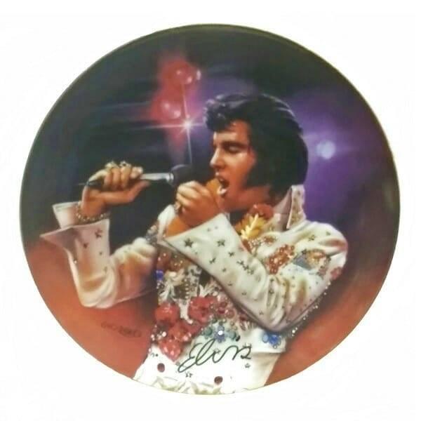 Remembering Elvis Plate