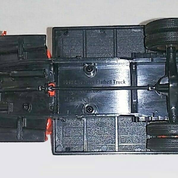 Ajax Flatbed Tow Truck bottom view close up