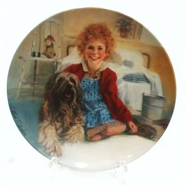 Annie and Sandy Plate