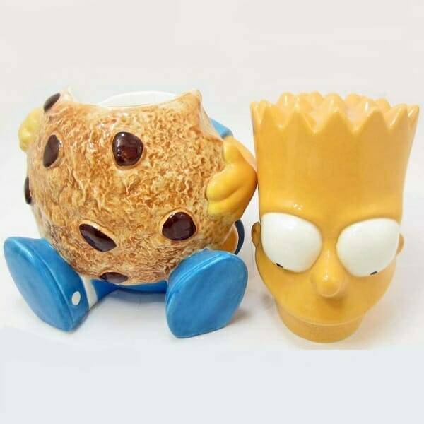 Bart Simpson Cookie Jar top off