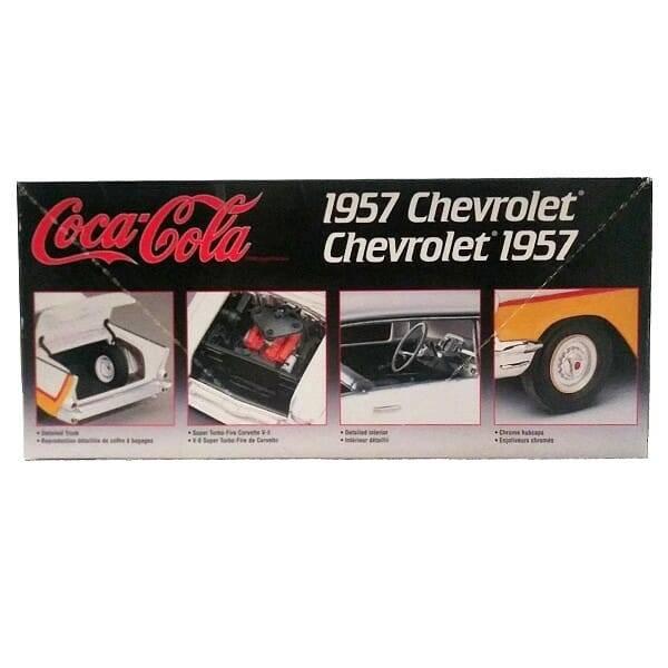 Coke AMT 57 Chevy Kit back view