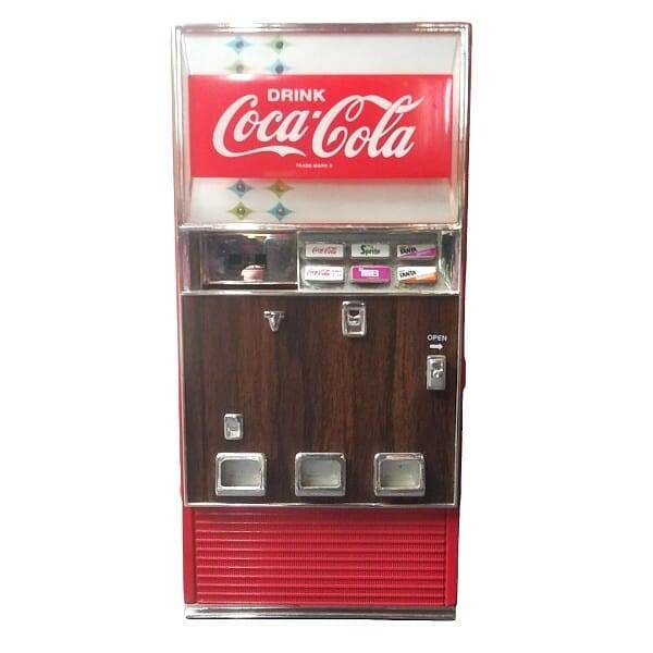 Coke Mini Vending Machine
