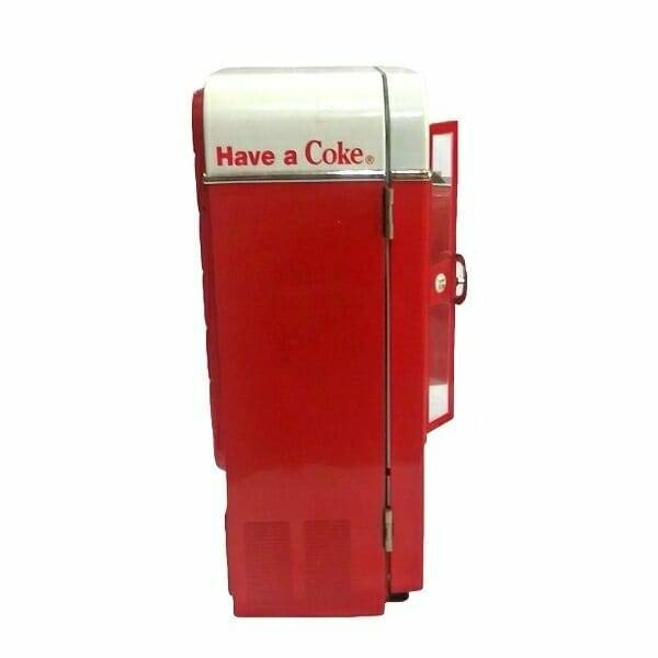 Coke Music Vending Machine side 1 view