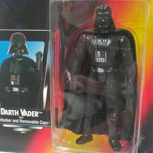 Darth Vader Action Figure close up