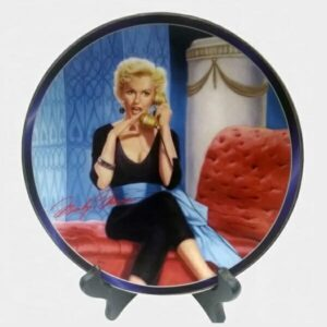 Lazy Marilyn Monroe Plate