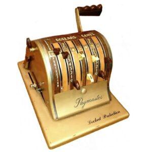 Paymaster Check Machine