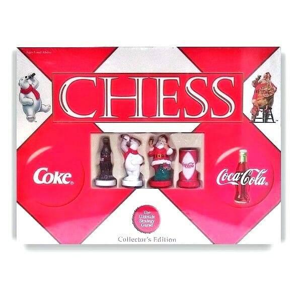 Coke Memorabilia Chess Set