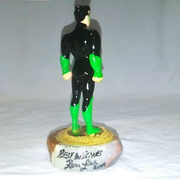 Green Lantern Figurine 2241 back view