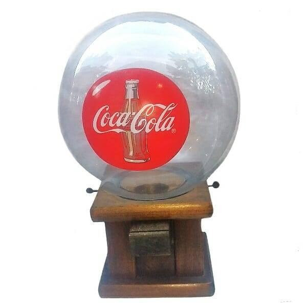 Manual Coke Gumball Machine