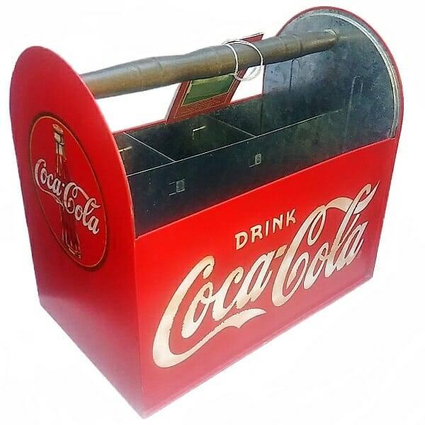 Coke Red Utensil Caddy