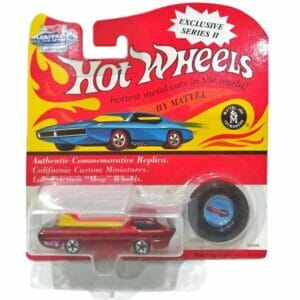 Red Deora 1968 Hot Wheels